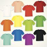 Katoenen T-shirts, het ene T-shirt is het andere niet