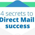 4 Geheimen van Direct Mail succes (infographic)