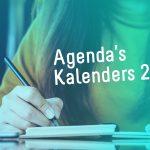 Agenda's en kalenders met logo: 24/7 effectief promoten