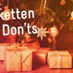 Kerstpakketten: de do's en don'ts