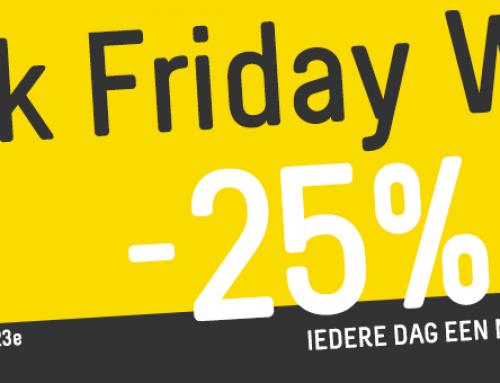 Black Friday Week bij IGO – Elke dag nieuwe deals
