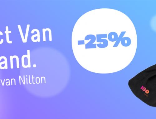 Product van de maand: Nilton's fleece sjaal (5963)