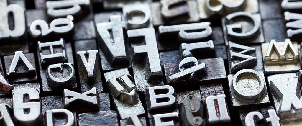 Letterpress druktechnieken