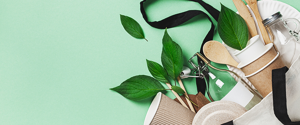 Duurzame producten van ecologisch materiaal
