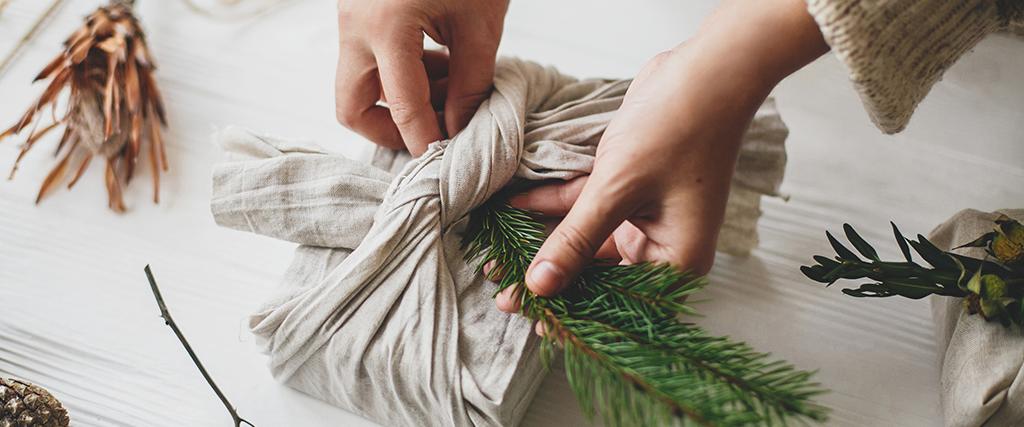 Eco cadeau inpakken duurzaam