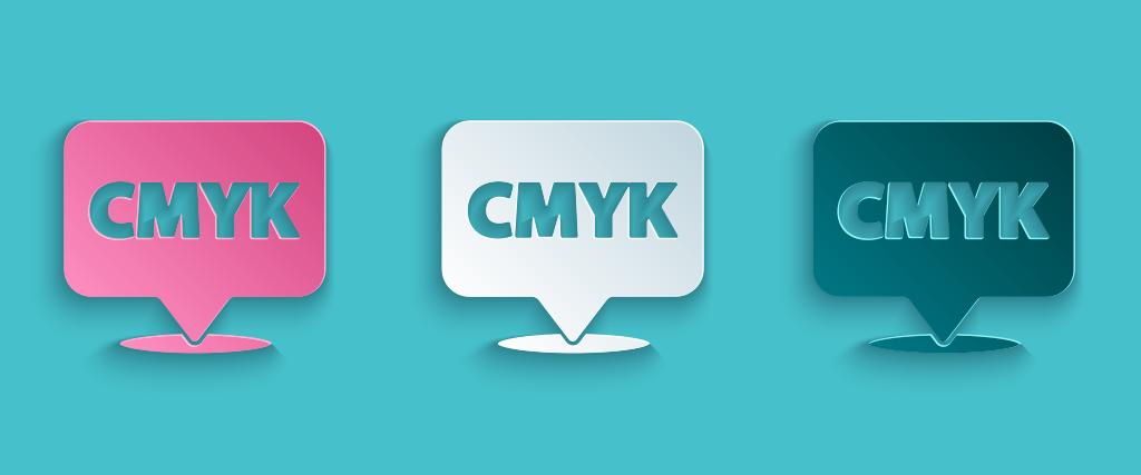 CMYK getoonde afbeelding