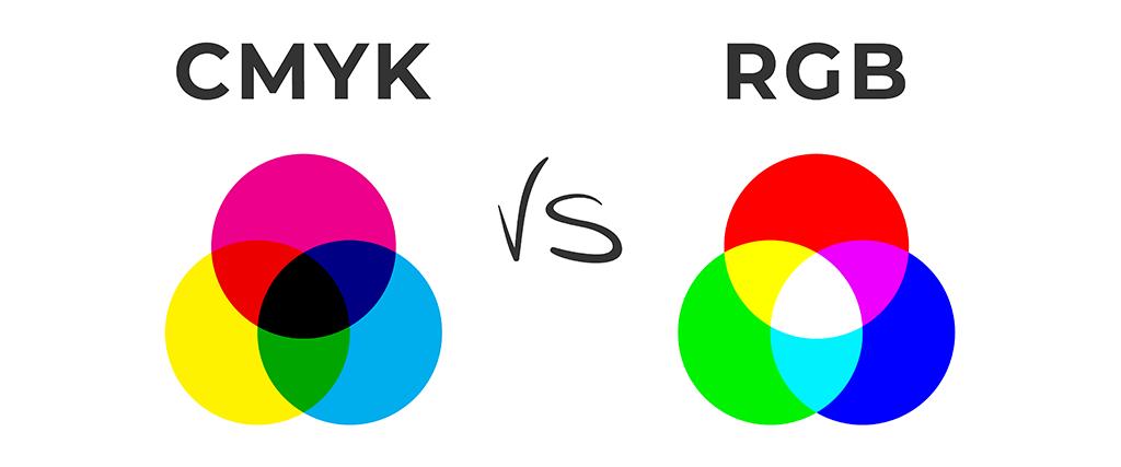 Verschil tussen cmyk en rgb
