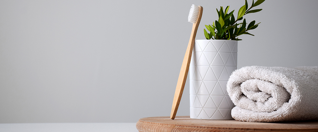 Duurzame bamboe tandenborstel